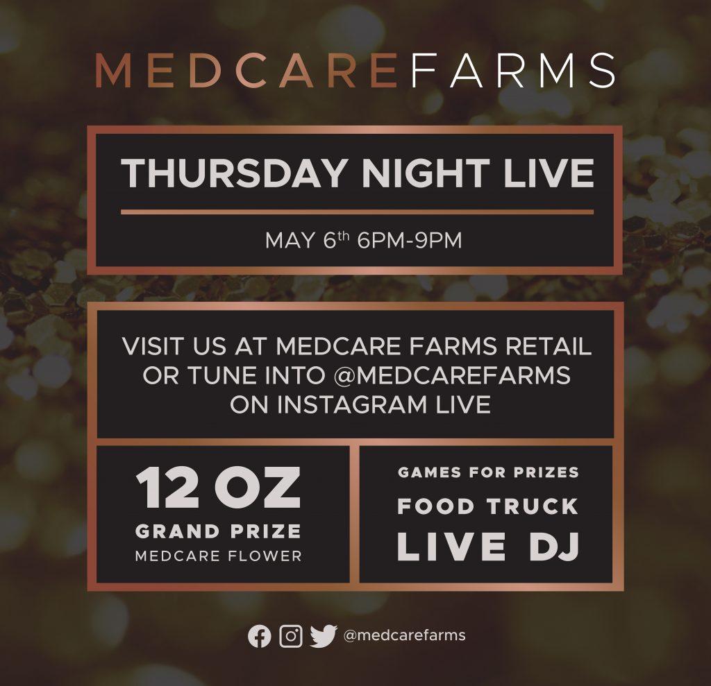 Medcare Farms Thursday Night Live